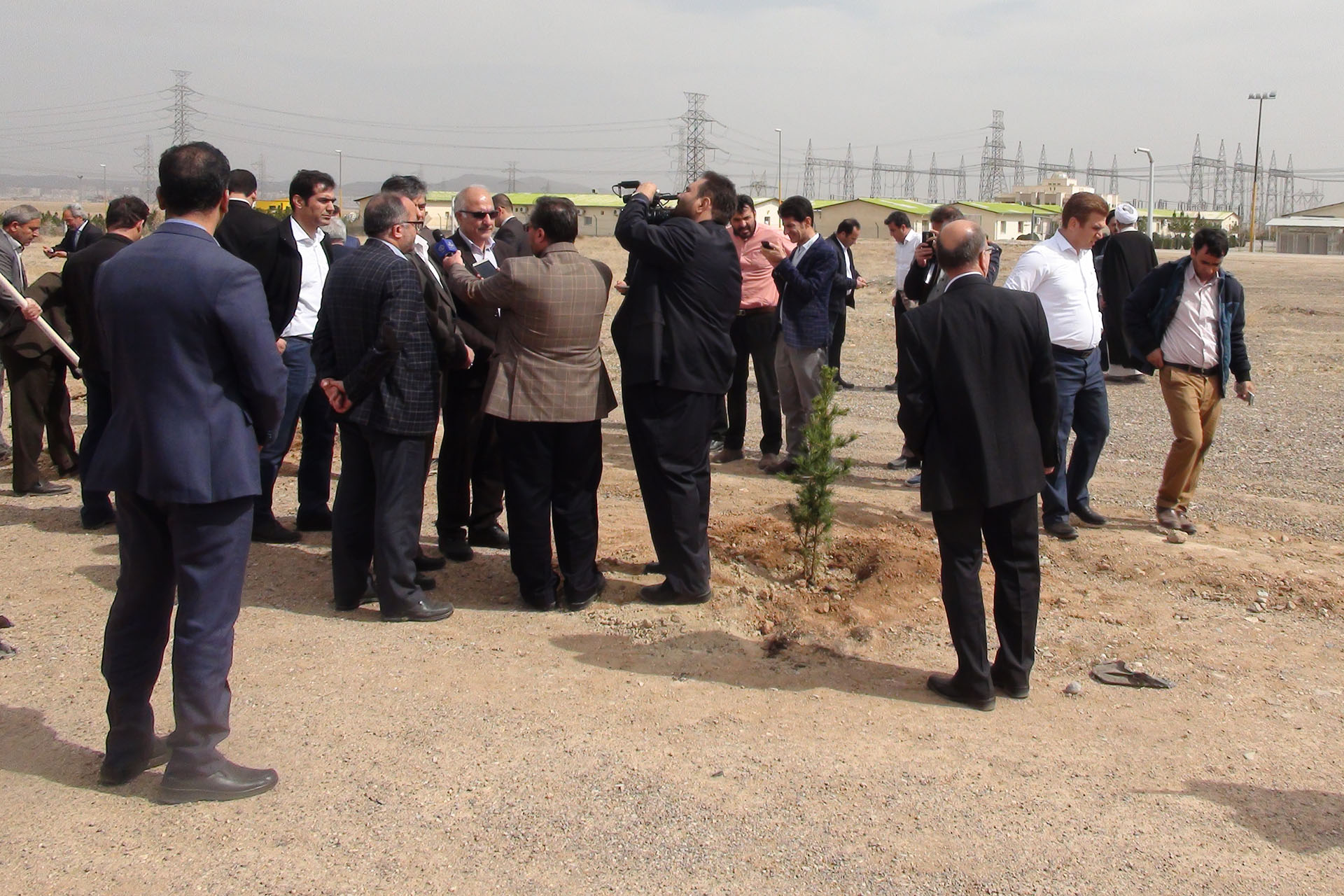 Forestation Project Around the Rudshur Power Plant Started
