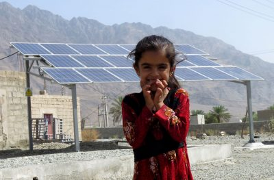 Solar Panels for Female Headed Households