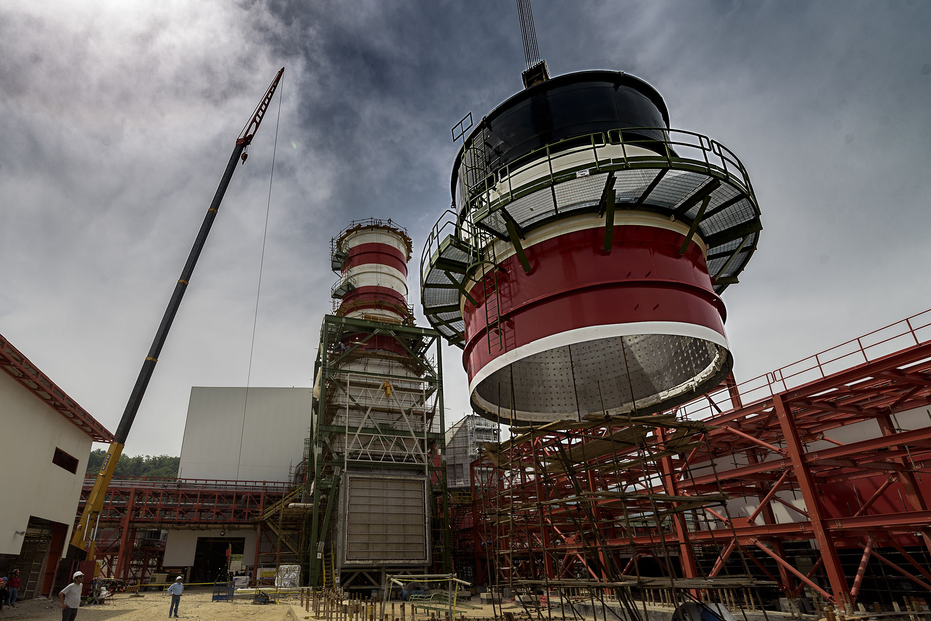 First Rotation of Caspian Power Plant's Gas Turbine