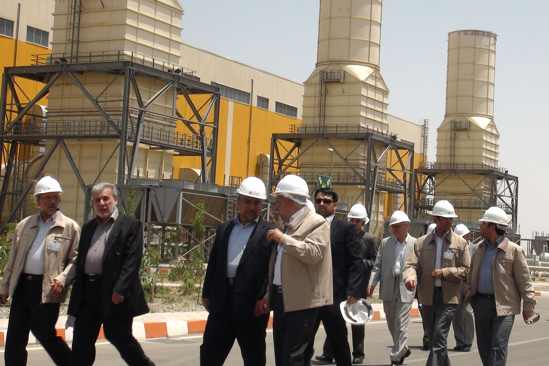 Minister of Energy Visited Rudshur Power Plant
