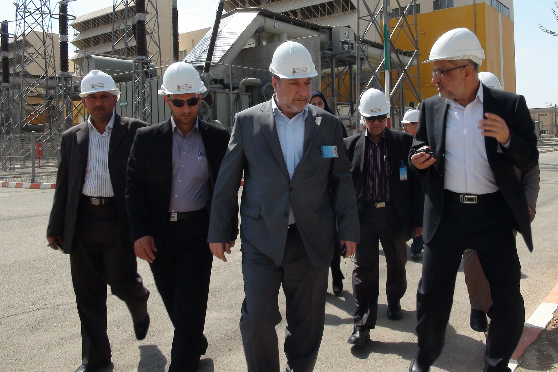 Visit of Iraqi Minister of Electricity from Rudshur Power Plant
