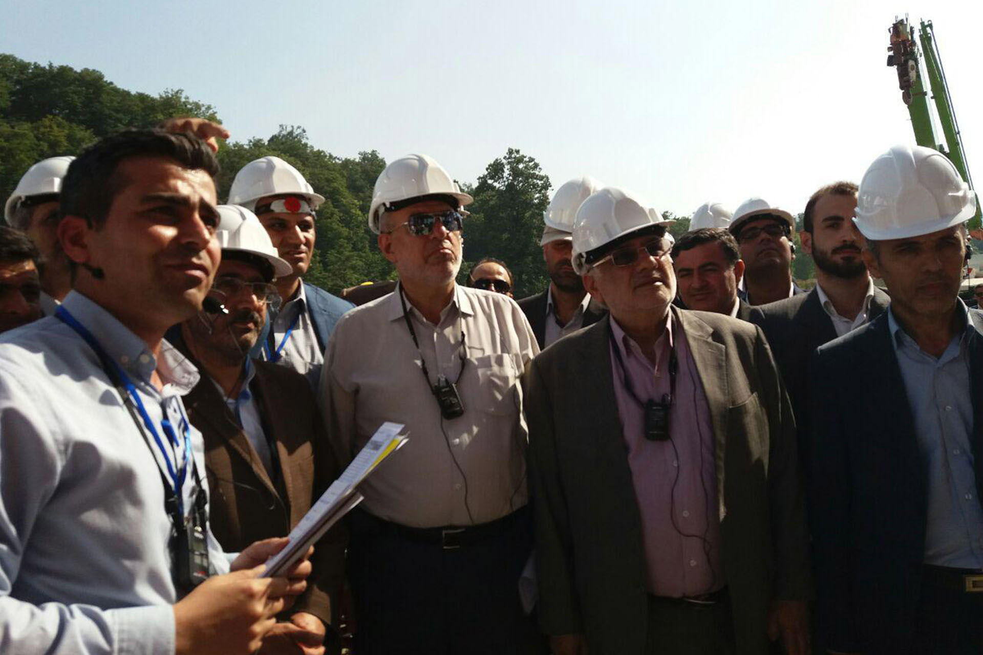 Minister of Energy: Caspian Power Plant's Construction is Currently Underway