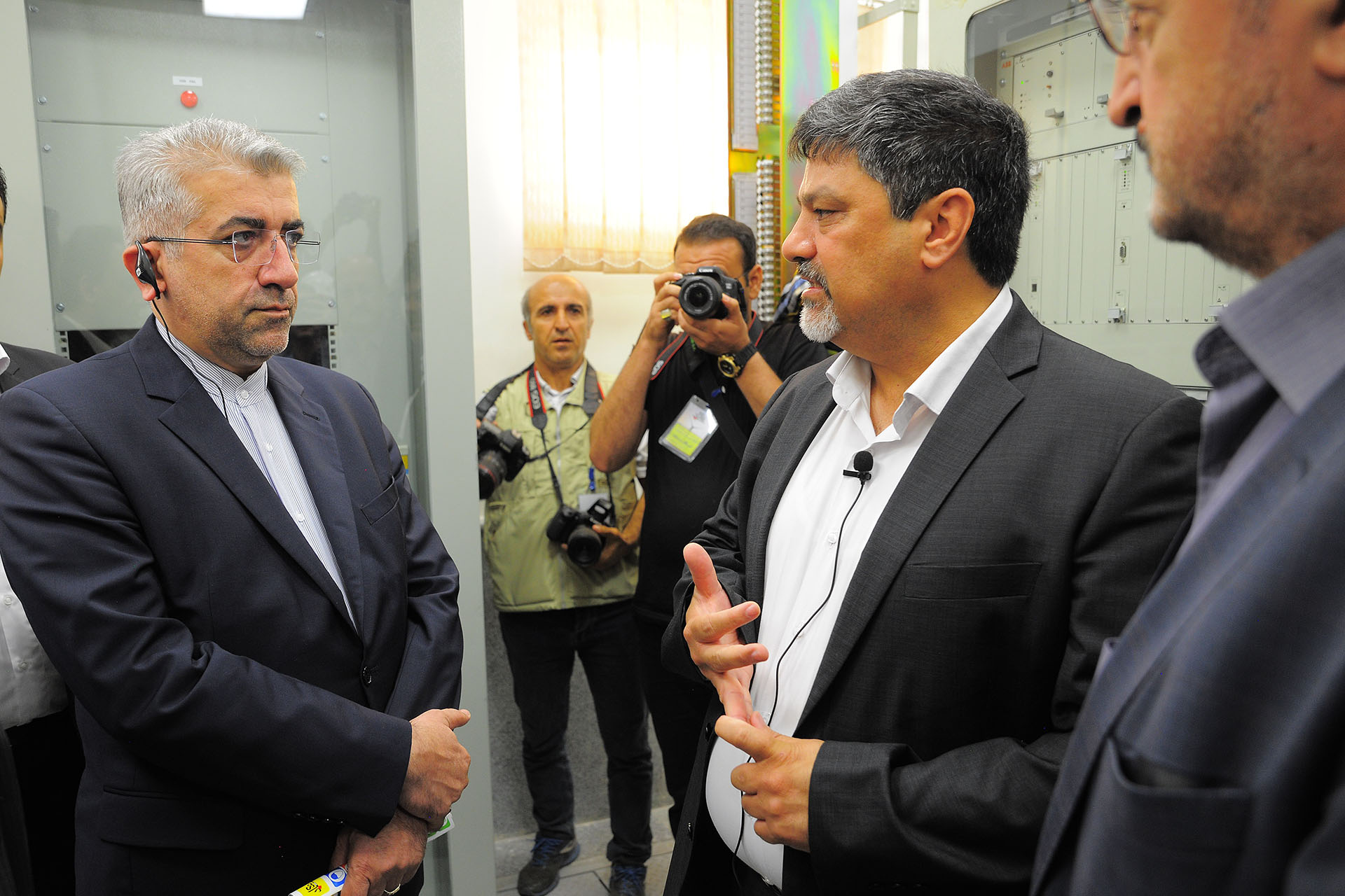 The Largest Wind Power Plant in Iran was Commissioned in Presence of the Minister of Energy