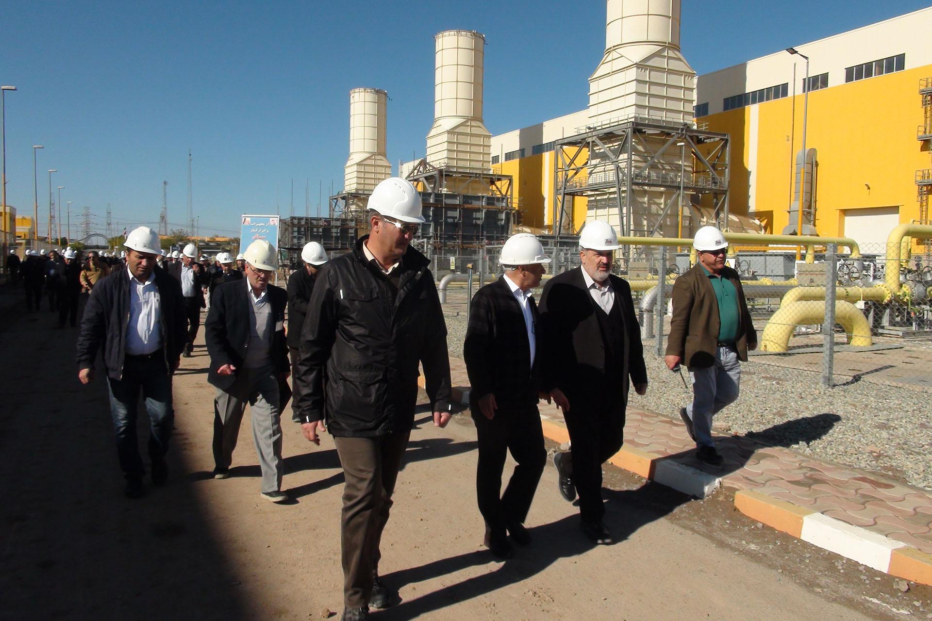 جلسه بررسی پیشرفت پروژه بخش بخار نیروگاه رودشور برگزار شد