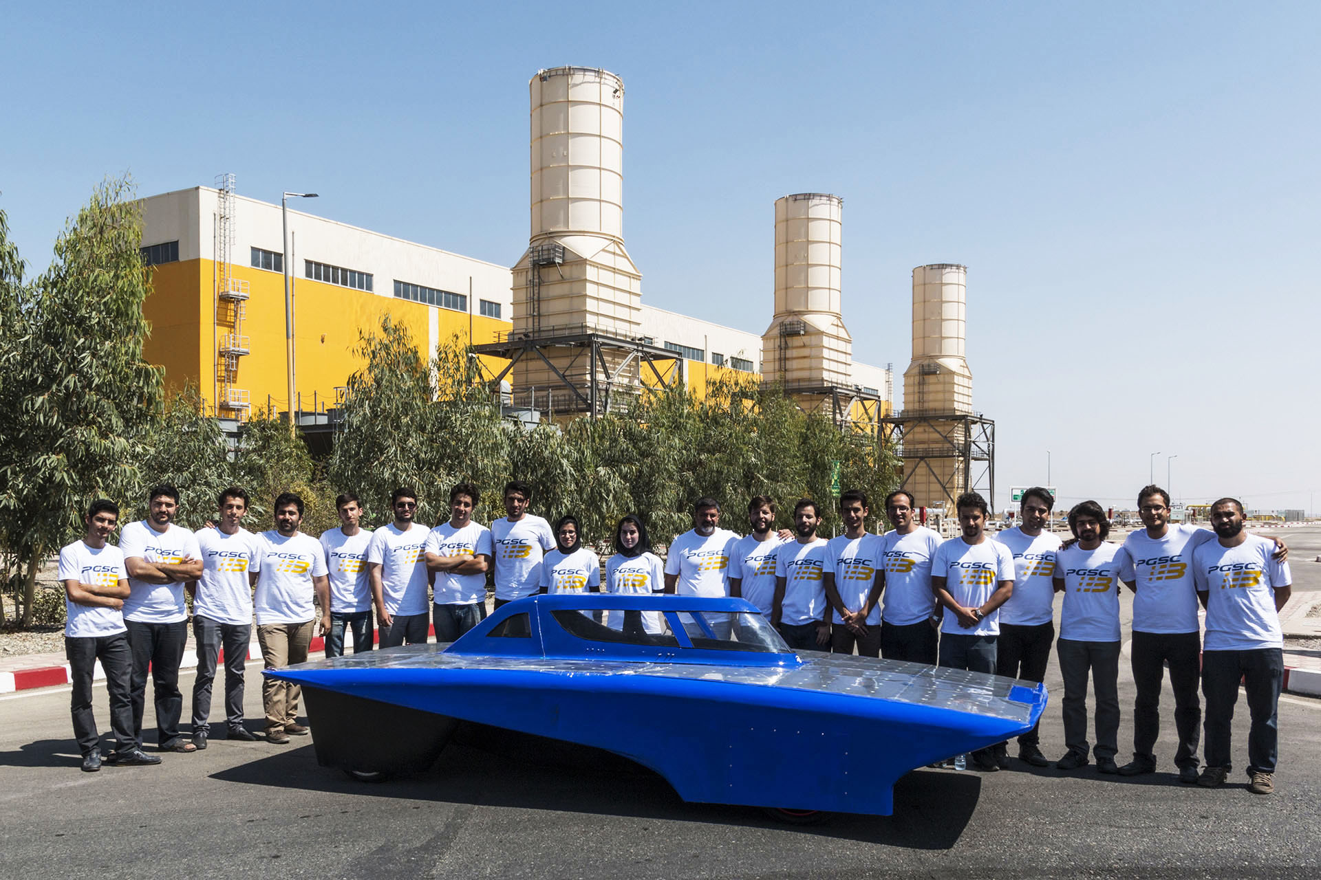 Iran's Solar Gazelle at the End of the Australian Grand Rally