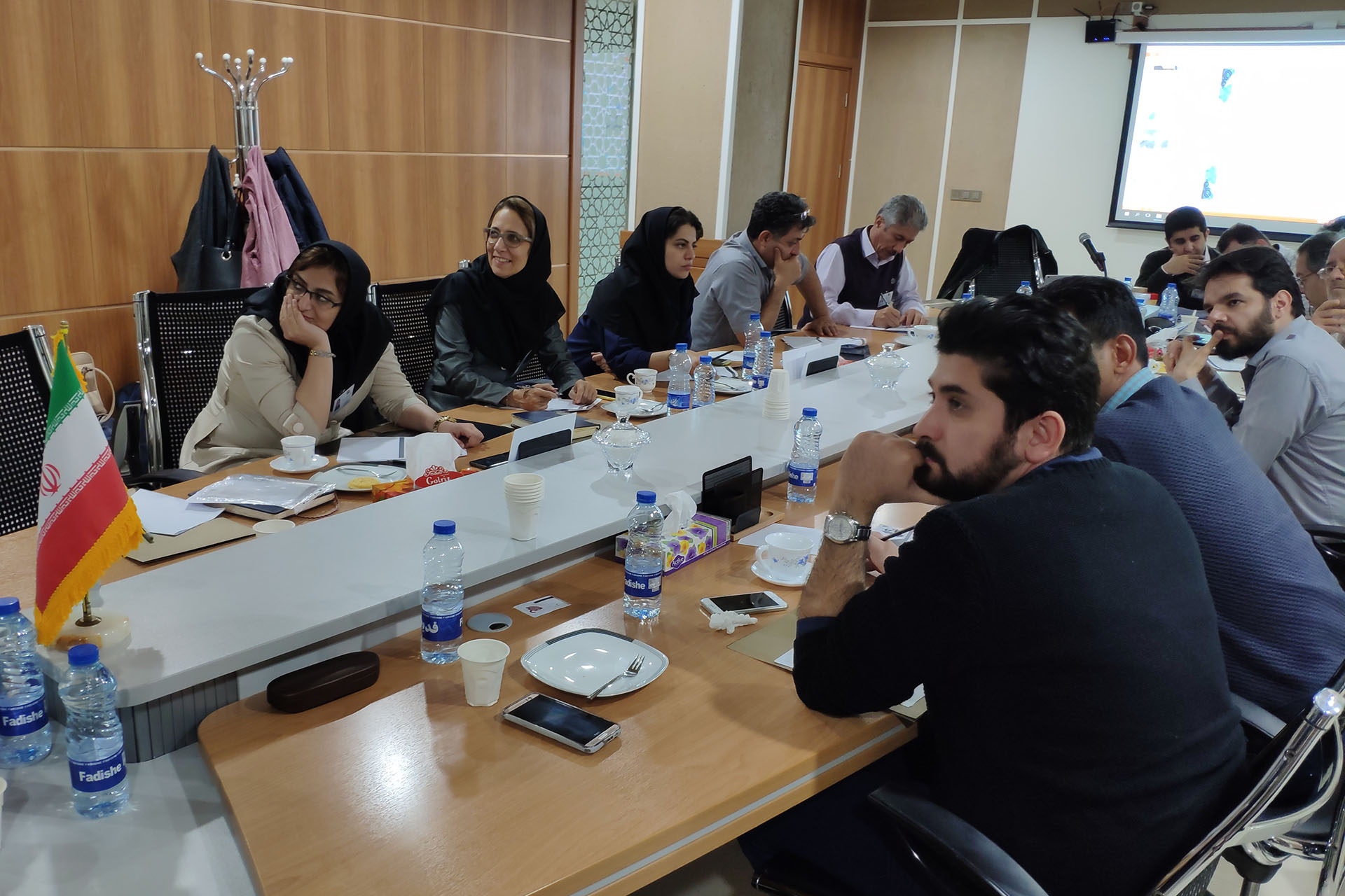 The First Gathering of MahTaab Group's Technical Managers was Held