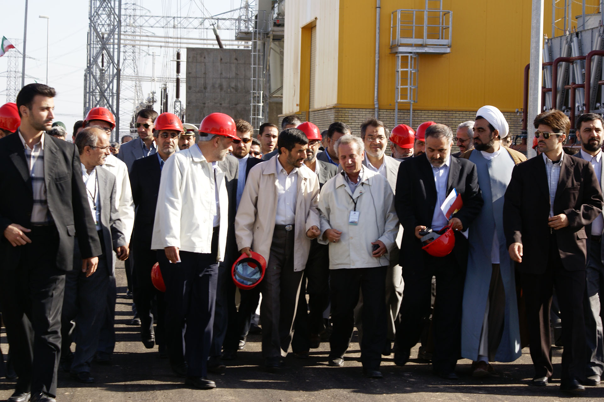 Rudshur, the First Private Power Plant in Iran, Opened in the Presence of the President