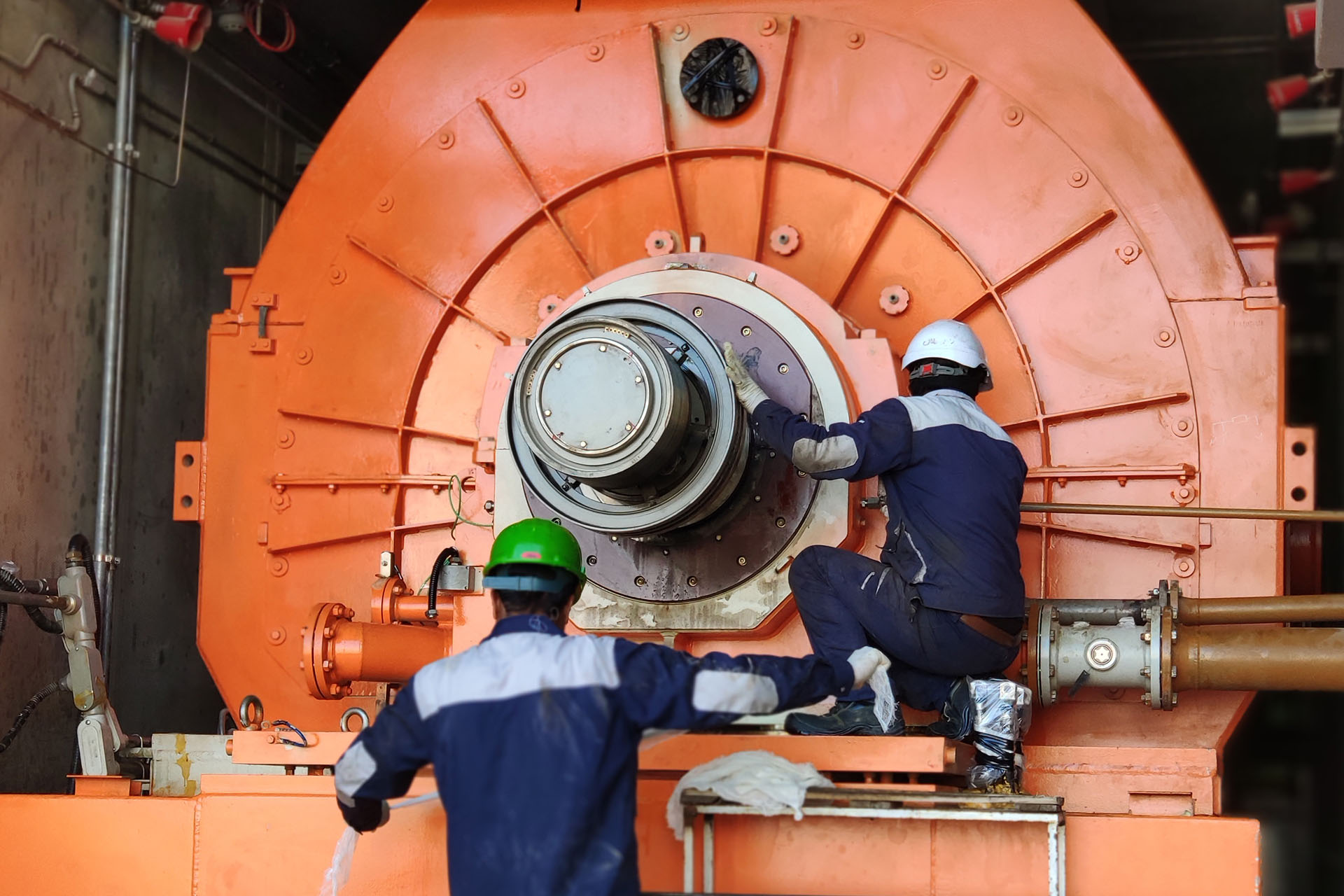 Shobad Power Plant's Unit Two Major Overhaul was Successfully Completed