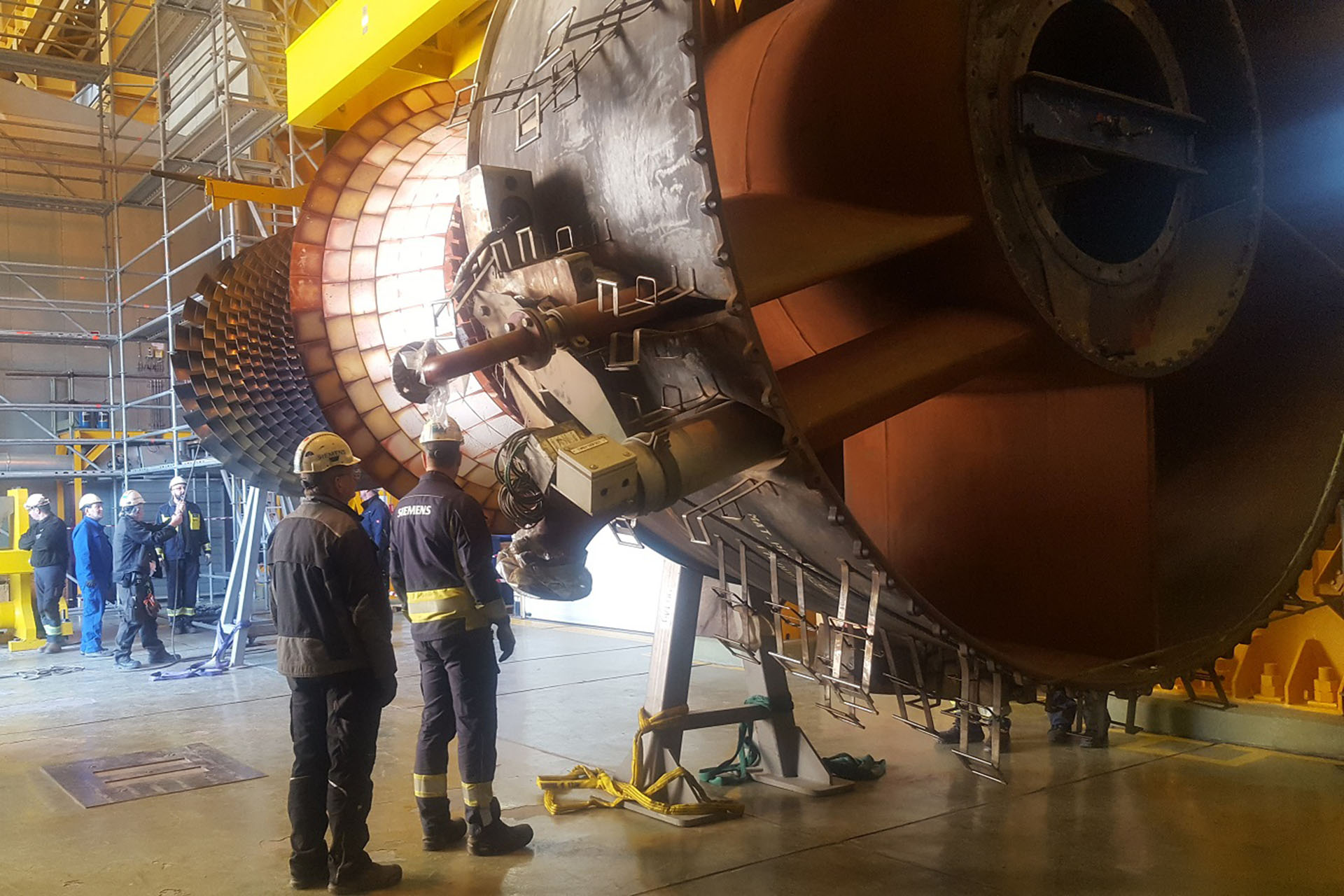 Overhaul of Unit Three of Rudshur Power Plant Completed Successfully