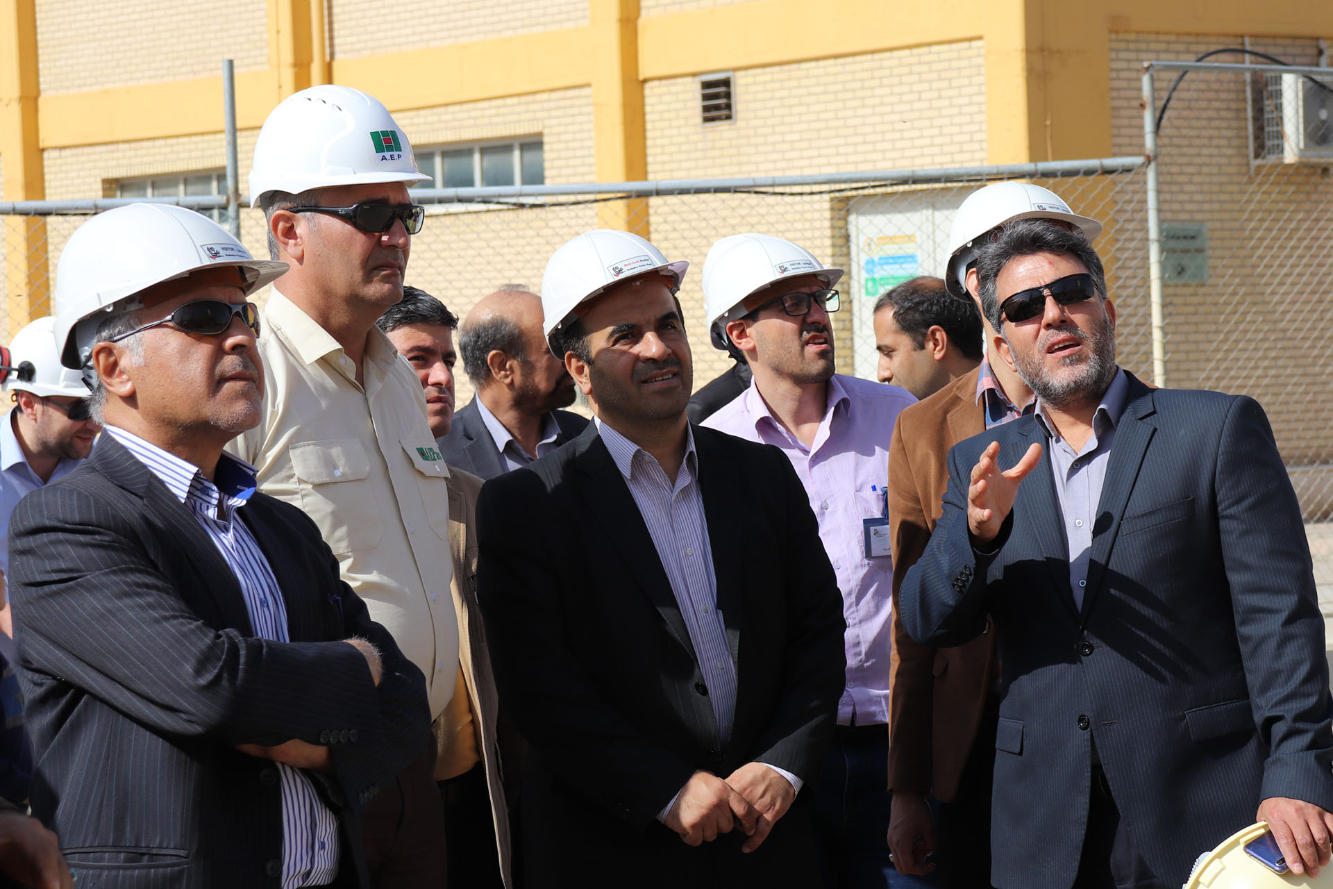 CEO of  TPPH Visited Rudshur Power Plant