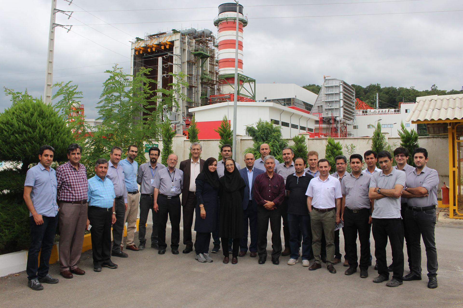 دومین گردهمایی مدیران فنی نیروگاه های گروه ماه تاب برگزار شد