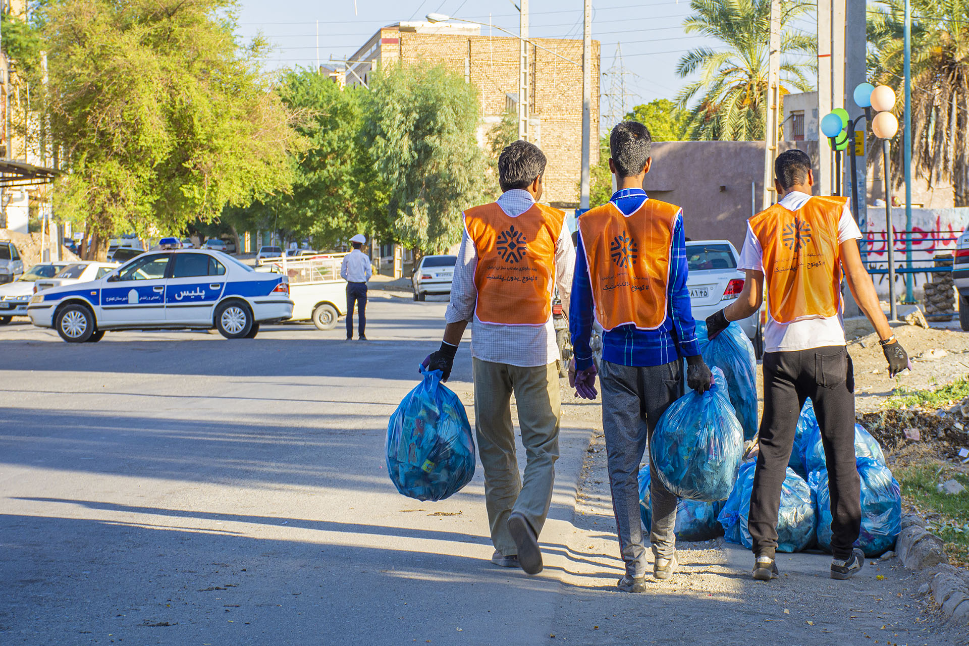 Third Kahnouj Without Plastic Campaign Held