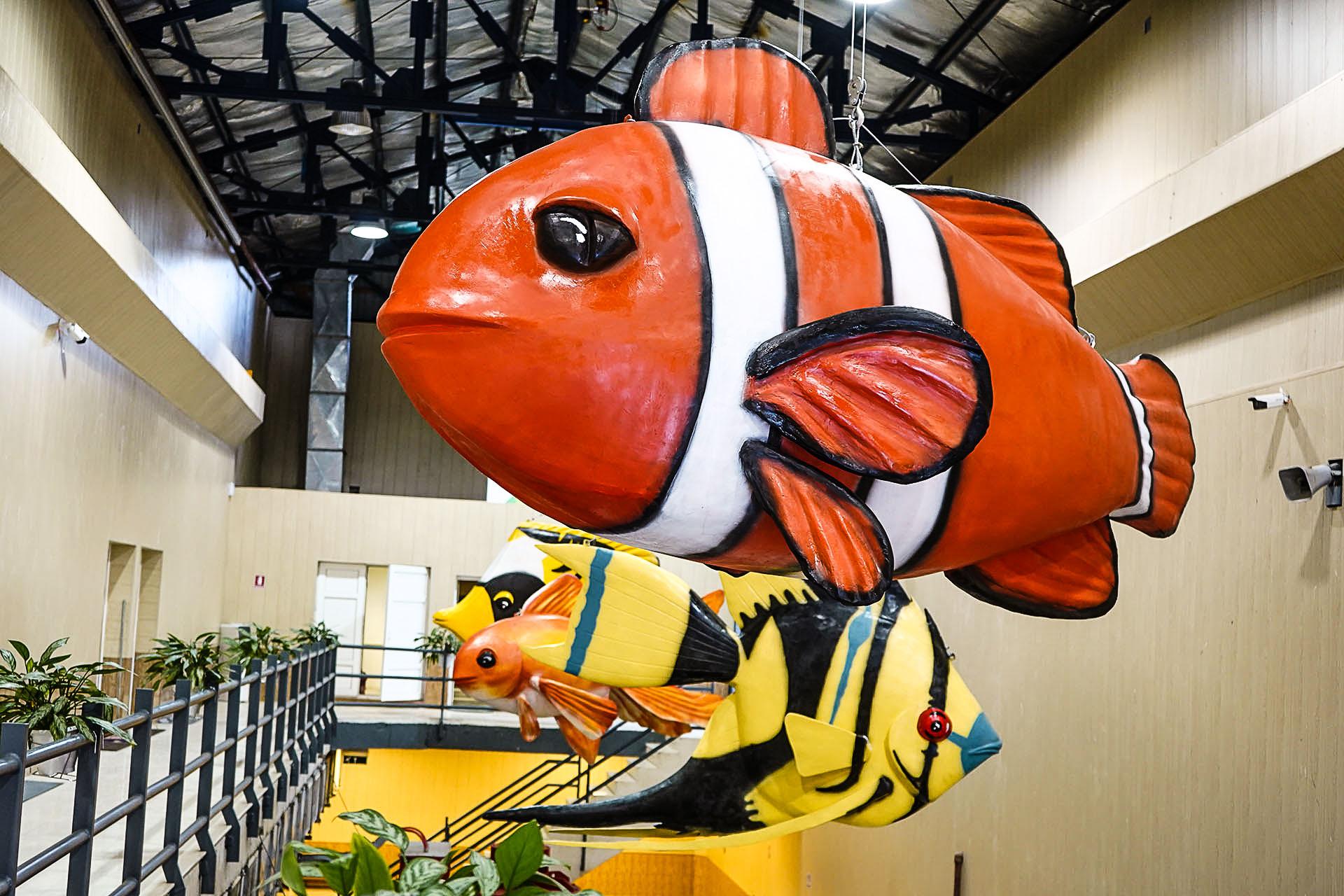 ورود ماهیها به نیروگاه برقآبی شهربیجار